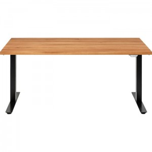 Biurko Office Jackie Oak Black 180x90 cm Kare